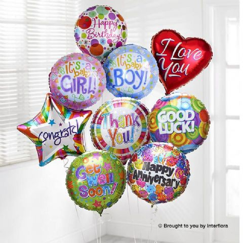Occasions Helium Balloon (Single)